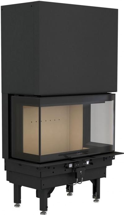 Contura i50 - Modern kamininsats med hisslucka
