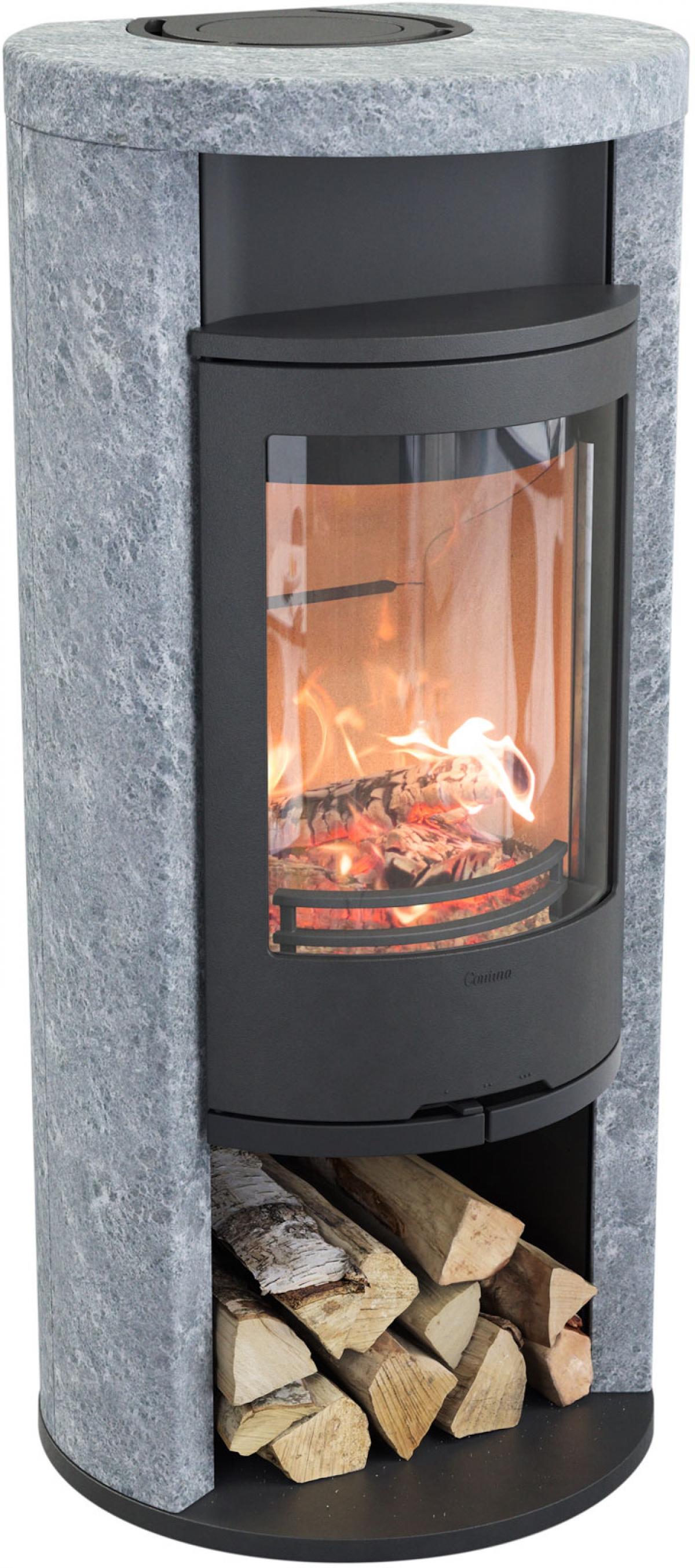 Contura 620T Style - Täljstenskamin med extra värmelagring
